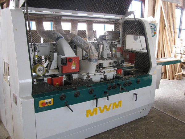 Четырёхсторонний станок б/у RMM 520 - 2008 год
