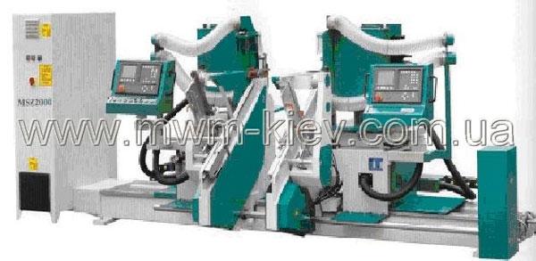 Автоматический  двухсторонний шипорезный станок для производства стульев MSZ 2000