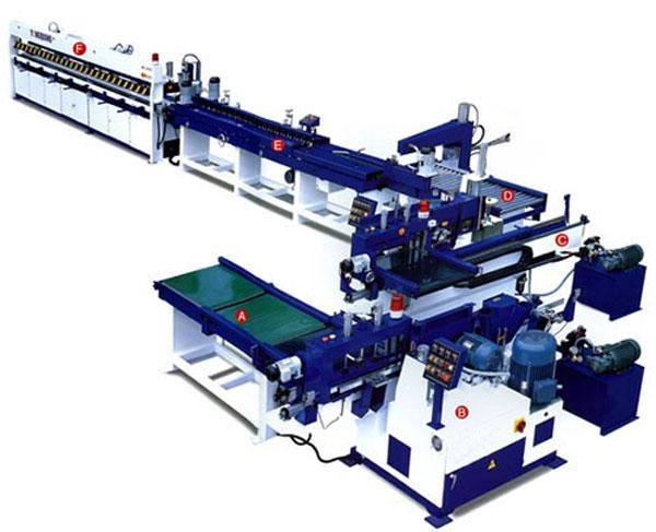Автоматическая линия сращивания по длине FJL150-8