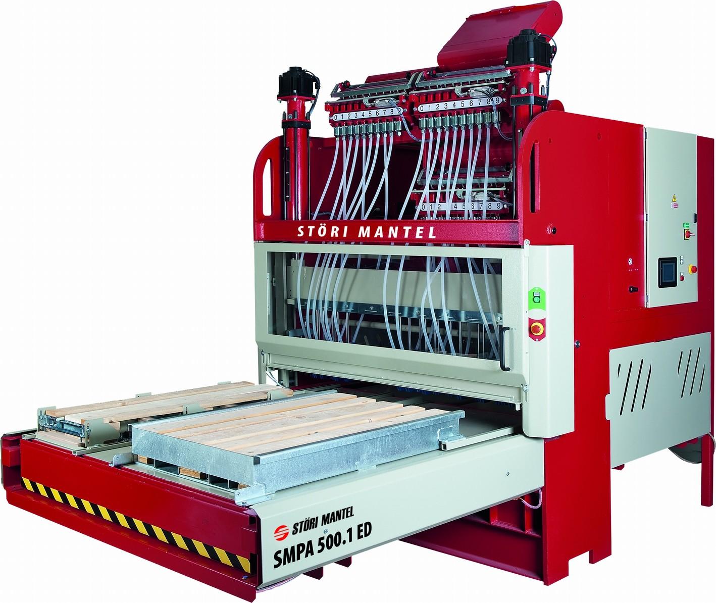 Гвоздезабивной автомат SMPA 500.1 ED (Electric Drive) для производства поддонов